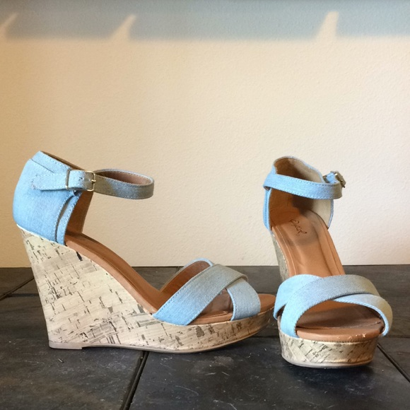 Modcloth Shoes | Wedge Heels With Light